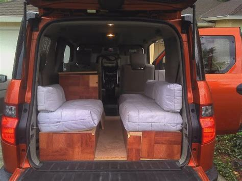 element camper conversion lets  camping eoc inspired picture heavy honda element