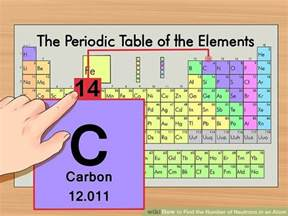 Number Of Protons And Neutrons In Carbon How To Find The Number Of Neutrons In An Atom 11 Steps