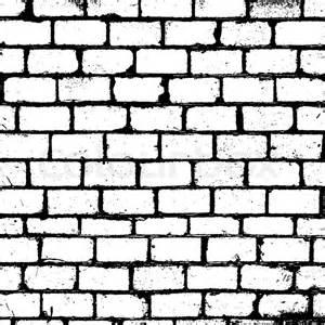 Wall Of Black And White Photos Broken Brick Wall Drawing Sketch Coloring Page