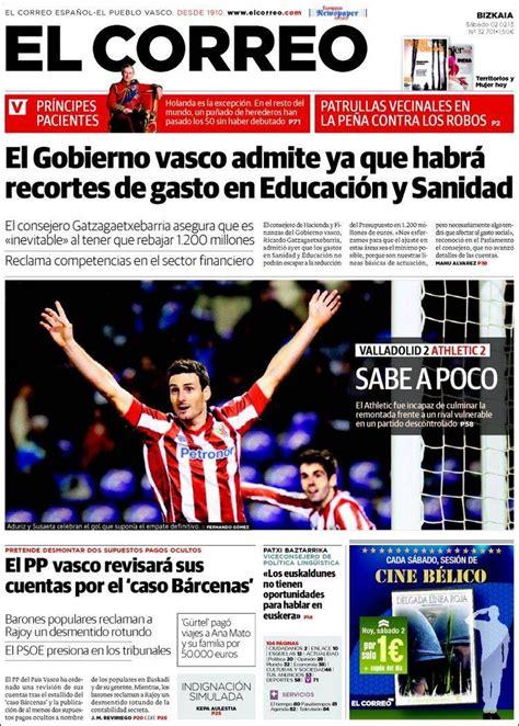 diario el correo noticias de pasco 17 best images about 02 02 2013 portadas periodicos