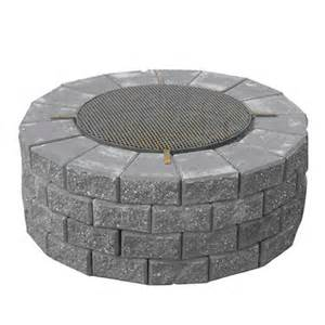 Patio Stones Rona by Stackstone Firepit Rona