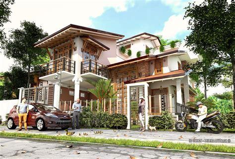 home modeling free 3d models houses villas 2 story modern villa