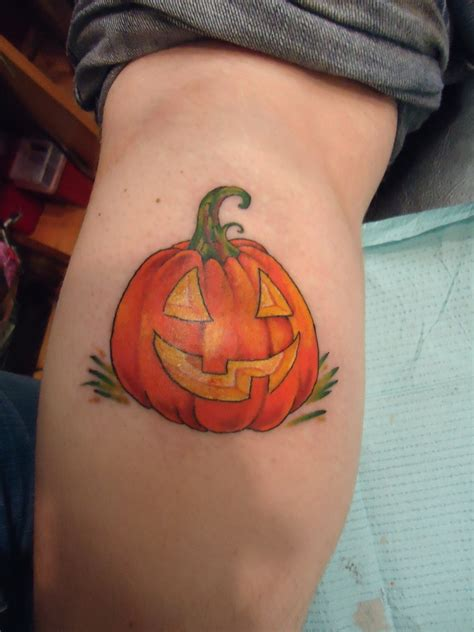 pumpkin tattoo tattoos and designs