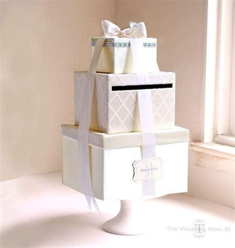 Money Gift Card Holder Box - elegant wedding reception gift card holder money box 38
