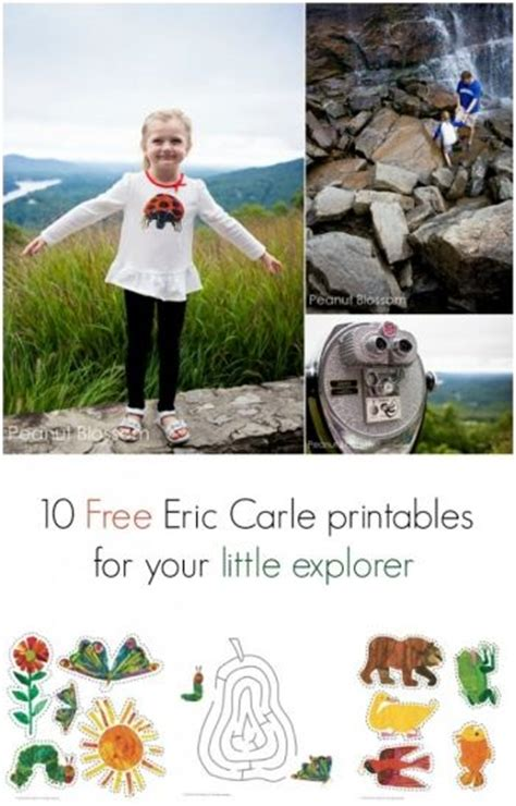 also check out this adorable free printable that would be 10 free eric carle printables for your little explorer