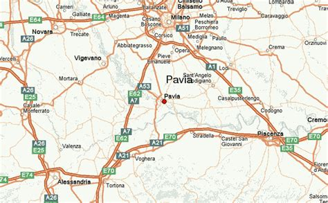 maps pavia pavia location guide