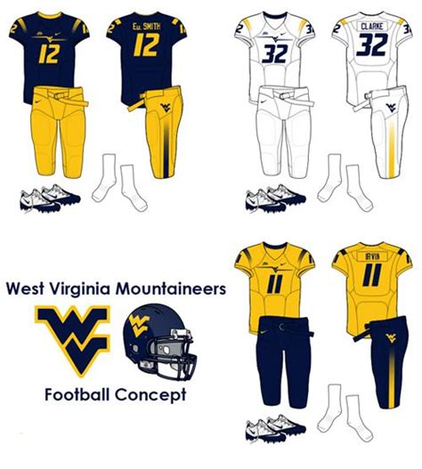 11 Usc Section 523 by West Virginia College Football Uniforms