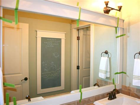 framing a bathroom mirror ideas home ideas collection