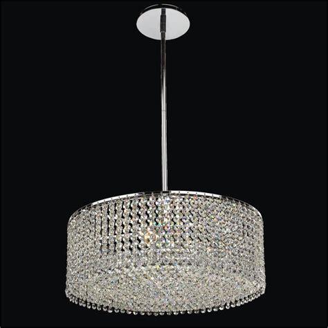 Crystal Drum Chandelier Urban Chic 596 ? GLOW® Lighting
