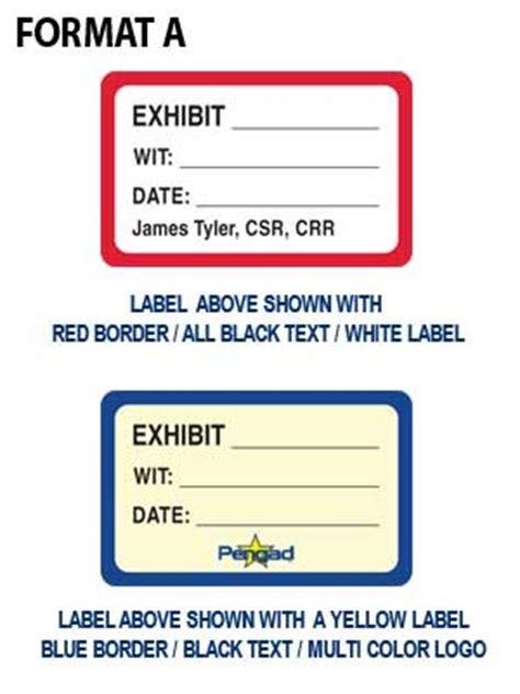 printable exhibit labels custom exhibit label multi color inks digital print