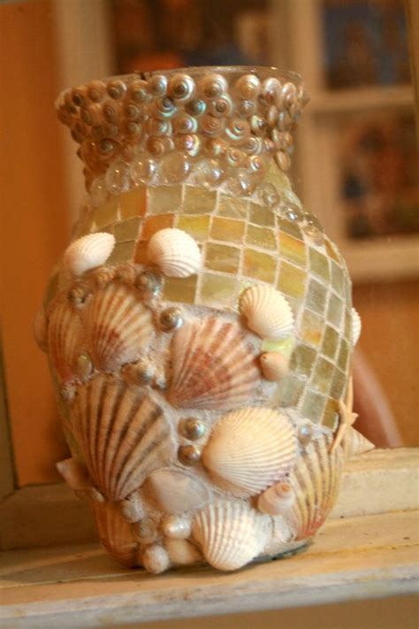 Seashell Vase by 17 Best Images About Mosaic Fish Sea On