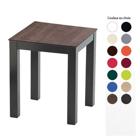 table basse 4 pieds couleur pied et plateau au choix