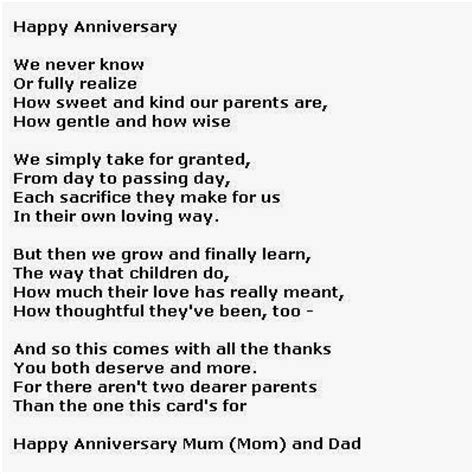 poems for parents funniest anniversary poems collection