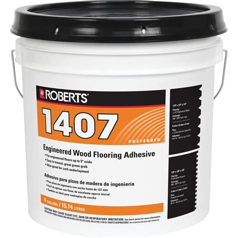 Engineered Wood Flooring Glue by 4 Gal Engineered Wood Flooring Glue Adhesive 1407