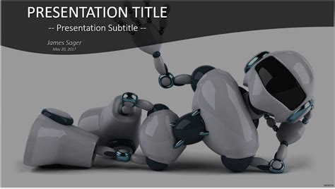 Powerpoint Template Robot Download Images Powerpoint Template And Layout Robot Powerpoint Template