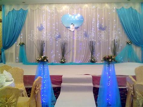 wedding swags and drapes new design 3m 6m ice silk tiffany blue swags and drapes