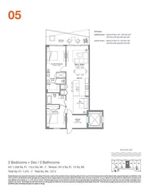 icon floor plan icon bay miami condo 428 ne 28th str florida 33137