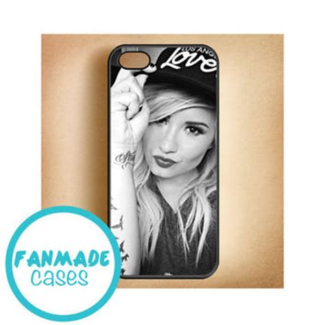 Demi Lovato Z2142 Iphone 4 4s by Demi Lovato Hat Iphone 4 4s 5 5s 5c From Fanmadecases On