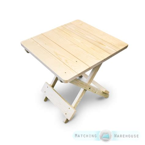 Small Outdoor Folding Table Side Table Small Wooden Snack Folding Outdoor Garden Patio Furniture Uncoated Ebay