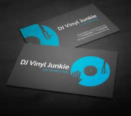 business cards for djs amazing dj business cards psd templates design graphic design junction
