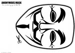 guy fawkes v for vendetta mask drawing sketch coloring page