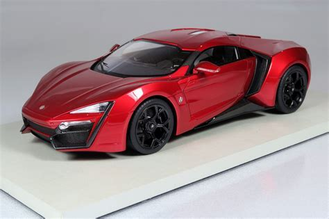 Top Marques Collectibles Lykan Hypersport, 1:18 red   TOP30E