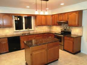 Kitchen Backsplash Ideas With Oak Cabinets by Kitchen Kitchen Backsplash Ideas With Dark Oak Cabinets