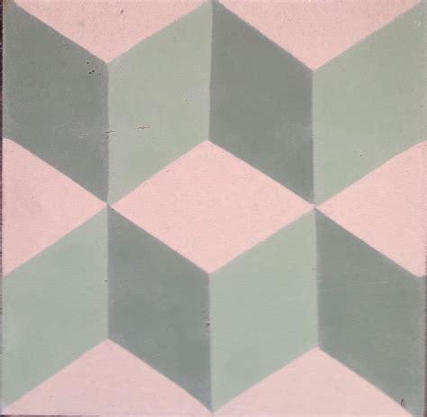 Geometric Pattern Tiles Uk | geometric tile cubic tile 3d tile green square tile