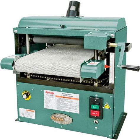 Mb 07mr Brush Flat 6 12 quot baby drum sander grizzly industrial