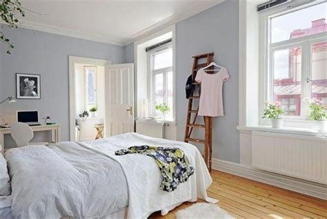 nice bedroom colours soft grey wall paint color and bamboo floor for nice