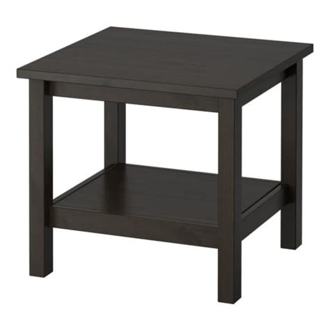 ikea end table hemnes side table black brown ikea