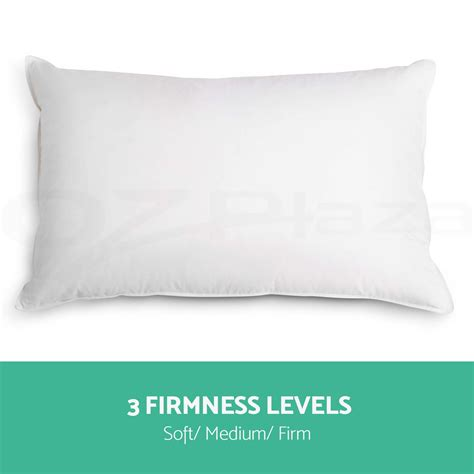 soft bed pillows family 4 pack bed pillows soft medium firm cotton cover