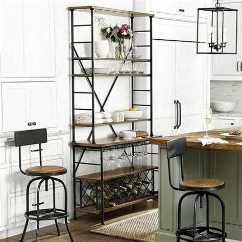 wine servers and bar cabinets urban wine bar dining room furniture furniture world
