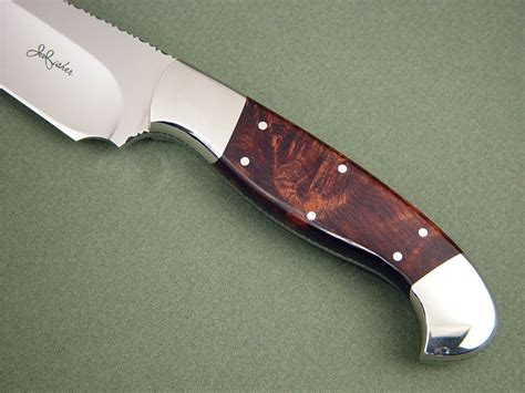 quot hestia quot fine chef s handmade knife by jay fisher knife handle materials woods honduras ru titley knives a