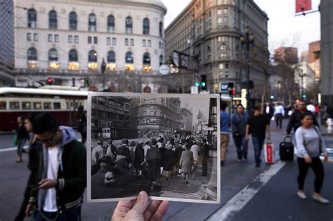 market street  history  dividing  uniting san
