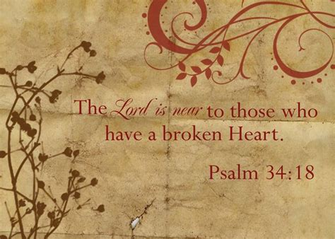 god comforts the broken hearted psalm 34 18 god things pinterest
