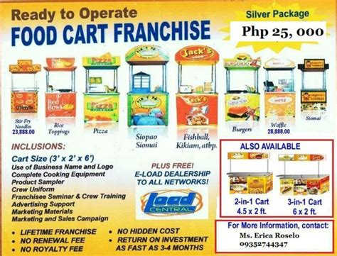 country style franchise philippines best 25 food cart franchise ideas on bike