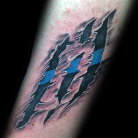 tattoo laws in quebec 50 thin blue line tattoo designs for men symbolic ink ideas