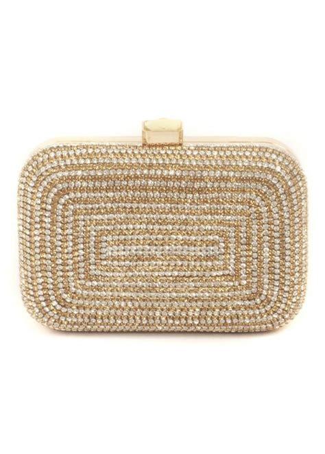 Clutch Gold Silver malissa j gold diamante evening bag box clutch bag