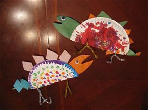 Stegosaurus Paper Plate Craft - stegosaurus craft crafts dinosaurs and the o jays
