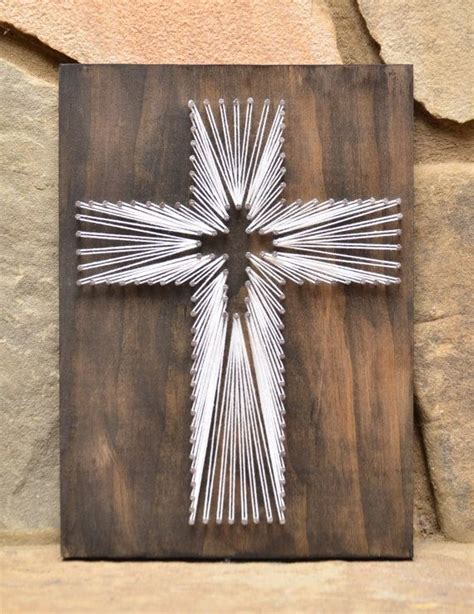home decor and gifts new string art daisy cross string art christian wall art mother s day gift
