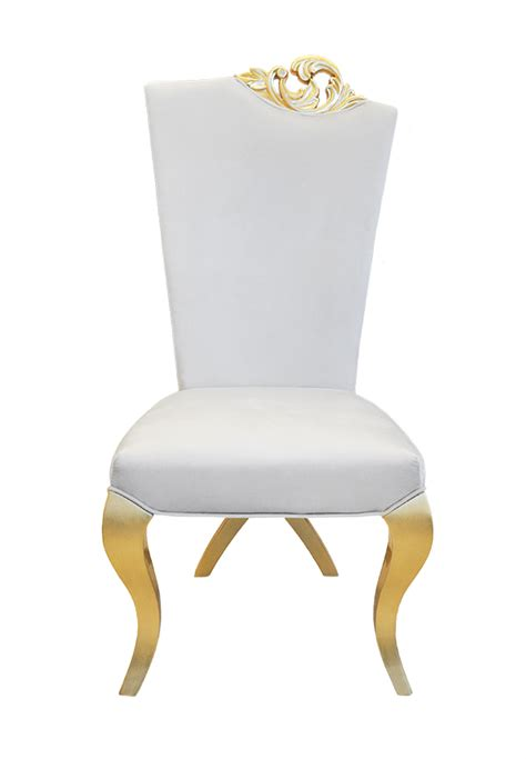 White And Gold Chair by White And Gold Dining Chairs Winda 7 Furniture