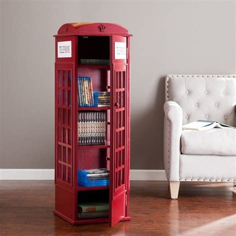 southern enterprises phone booth storage cabinet in
