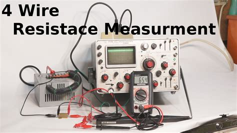 what is the resistor measurement 4 wire resistance measurement
