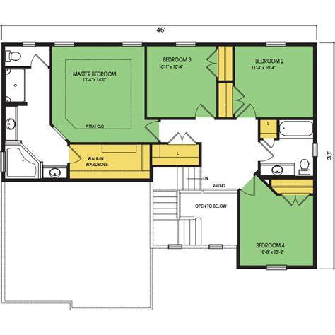 glacier home floor plan wausau homes
