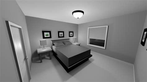 3d schlafzimmer bedroom free 3d model c4d free3d