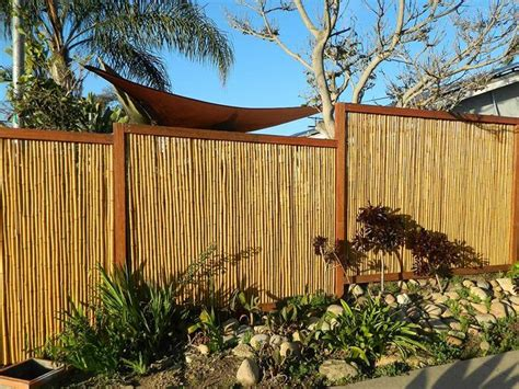 bamboo home decor fence materials idea to make home look 4 home ideas