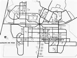 lackland map