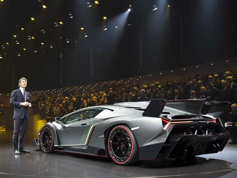 3 Million Lamborghini Lamborghini Unveils 3 9 Million Supercar Veneno To