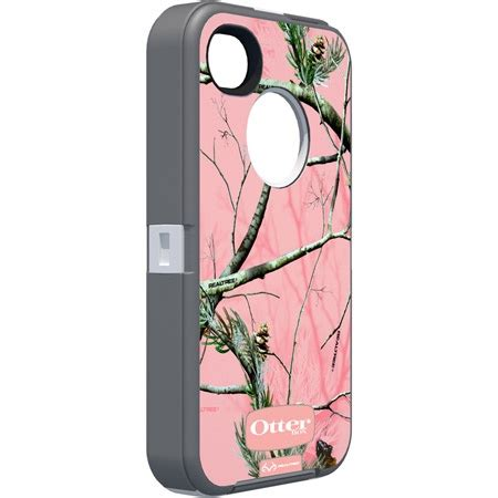 Cover Iphone 4 4s Camo Series pink camo iphone 4 4s by otterbox fishing